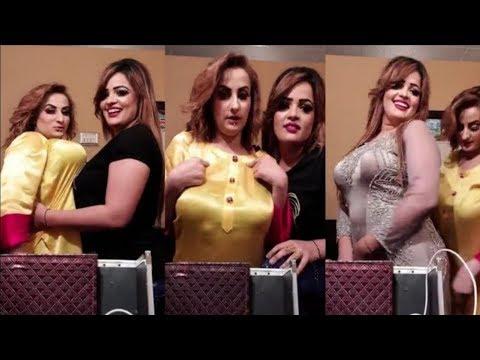 Afreen Khan Hot Pakistani Mujra Actress Live