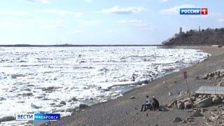 Ледоход у Хабаровска
