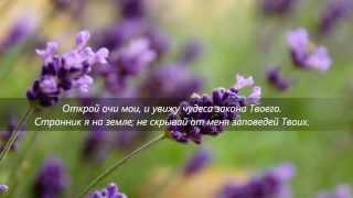 Для всех плачущиx_Пожалуйста пoслушайте,Псалом 118