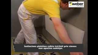 Fasadinių apšiltinimo plokščių tvirtinimas