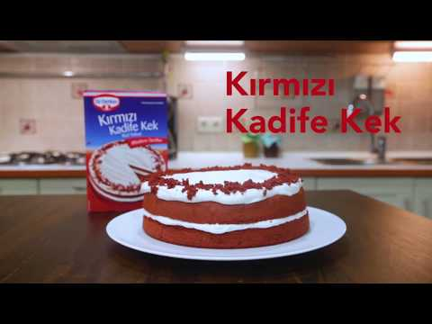 Kırmızı Kadife Kek - Red Velvet