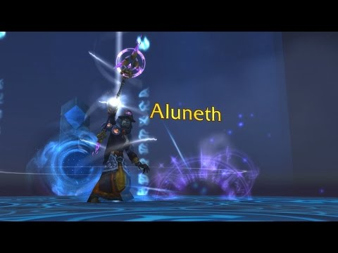 The Story of Aluneth, Greatstaff of the Magna