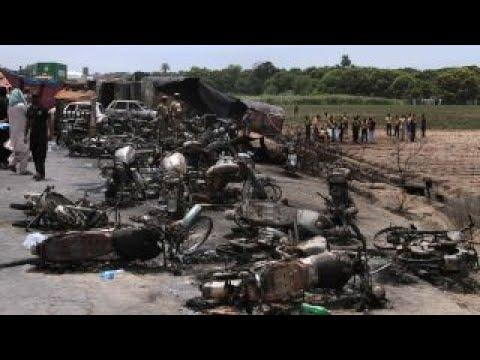 Oil tanker fire kills at least 153 in Pakistan