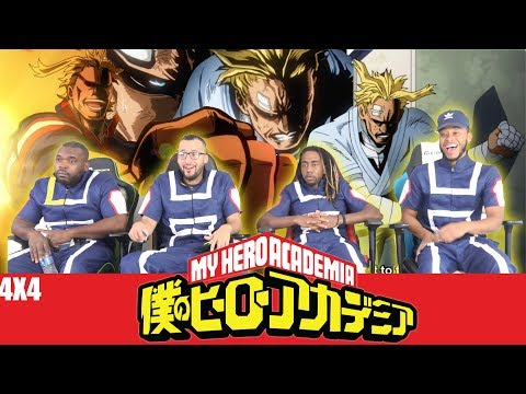 All Might's Future 😢 My Hero Academia 4x4 REACTION/REVIEW