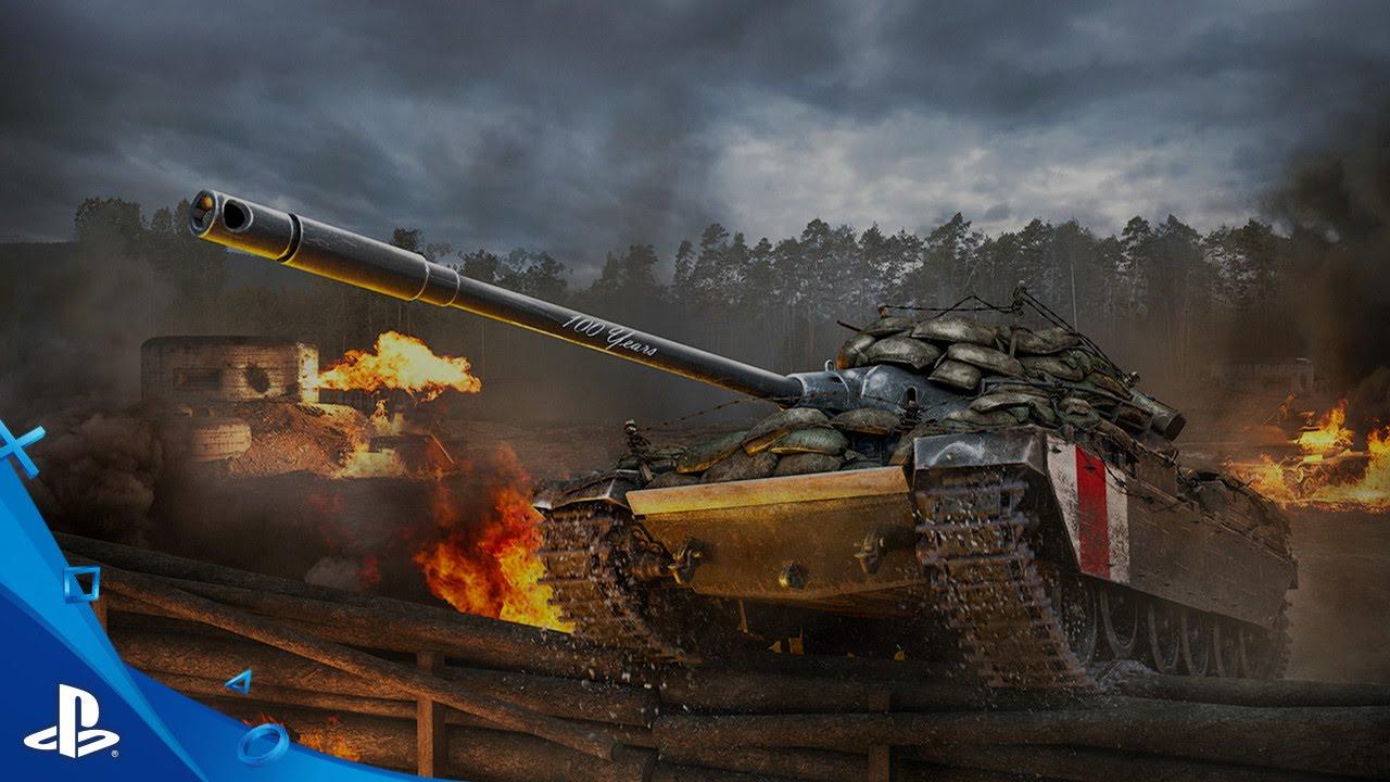 World of Tanks: Celebren 100 años del aniversario de Tanks