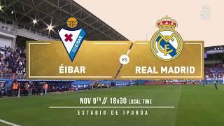PREVIEW | Éibar vs Real Madrid