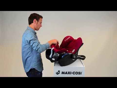 Maxi-Cosi CabrioFix - Jak zdjąć tapicerkę?