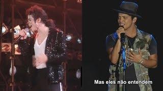 Michael Jackson × Bruno Mars × Talking To The Moon