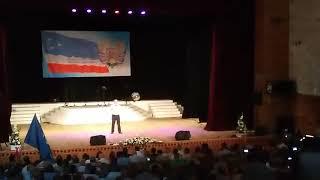 Празднование 28-ой годовщины Гагаузкой Республики - выступление С. Курудимова