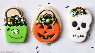 Halloween Candy Pail Cookies