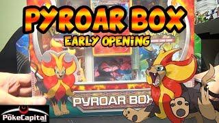 Pyroar  - (Pokémon) - Pokemon Pyroar Box Opening with 2 Flashfire & 1 XY Pack
