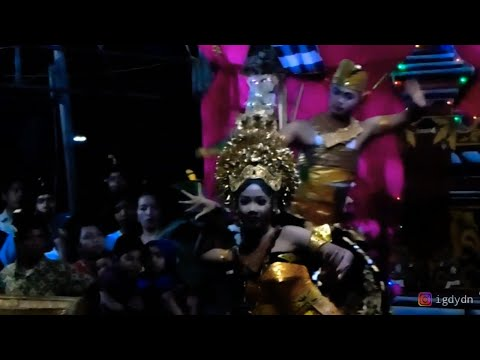 TARI OLEG MUDA MUDI EKA BHUANA | PIODALAN PURNAMA KAPAT 2019