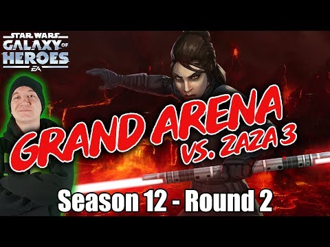 GRAND ARENA Season 12 Round 2 vs  Zaza 3! Super Competitive Semi