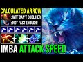 OMG Lightning Attack Speed Arrow Brutal Damage With Quick Reaction LC Can't Take The Fight Dota 2