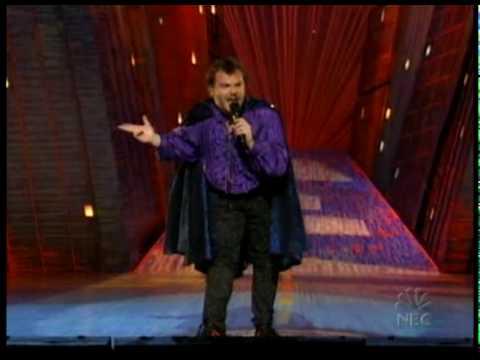 Jack Black zpívá příběh Conana O'Briena