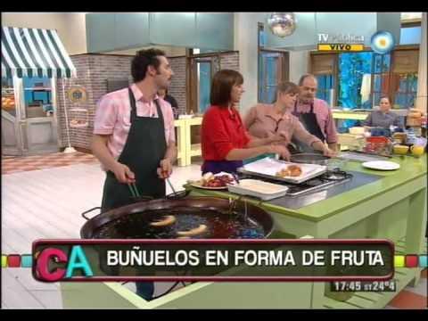 Buñuelos de fruta