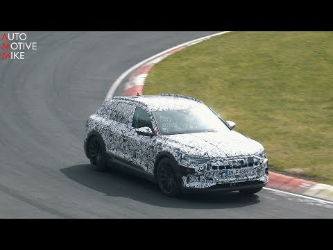 Audi E-tron 2019 mule