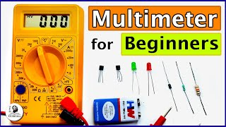How to use a Digital Multimeter - Best Multimeter for Beginners