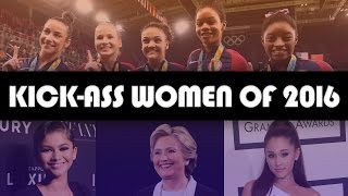 14 KickAss Women Of 2016