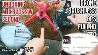 Unboxing Drone Kenangan [] MJX Bugs 2 W