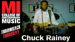 Directly from the MI vaults: TBT to Chuck Rainey gracing the students and halls of MI