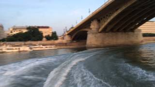 Luxury Speed Boat On The Danube