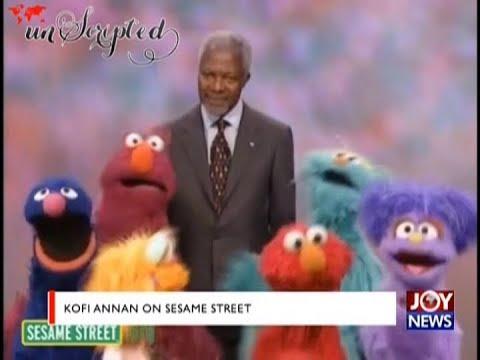 Kofi Annan on Sesame Street – Unscripted