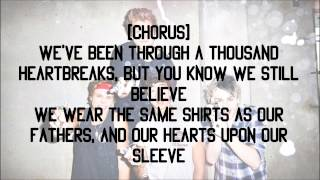 5SOS - Hearts Upon Our Sleeve feat. Scott Mills [Lyrics]