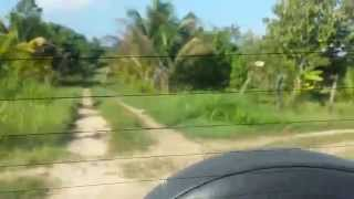 preview picture of video 'Leaving behind the Super Palm Resort at Belmopan'