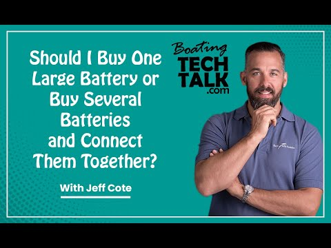 Ask PYS - Should I Buy One Large Battery or Buy Several Batteries and Connect Them Together?
