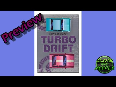 Cloak and Meeple: Preview, Turbo Drift