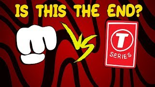 Is this the end of PewDiePie vs T-Series?