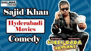 Hyderabadi Movies || Adnan Sajid Khan Back To Back Comedy Scenes || Sajid Khan