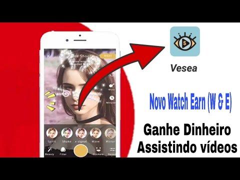 Novo Watch e Earn Como ganhar dinheiro no paypal assistindo vídeos - VESEA