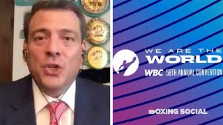 WBC CONVENTION CLOSING CONFERENCE: MAURICIO SULAIMAN ON WHYTE-POVETKIN, WILDER-FURY, CANELO/DAZN