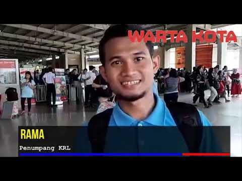 KRL Tak Layani Stasiun Palmerah Dan Tanah Abang Karena Pelantikan Presiden 2019 2024