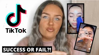 TESTING VIRAL TIKTOK MAKEUP HACKS 2020 / DO THEY REALLY WORK?!