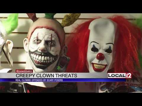 Real clowns not laughing about