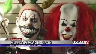 """Real clowns not laughing about """"creepy clown threats"""""""