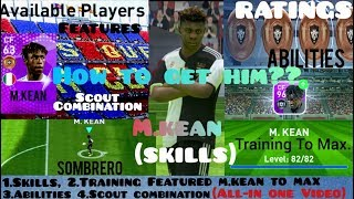 PES IS LIFE - All Young Stars Scout Combination PES 19 Mobile   www