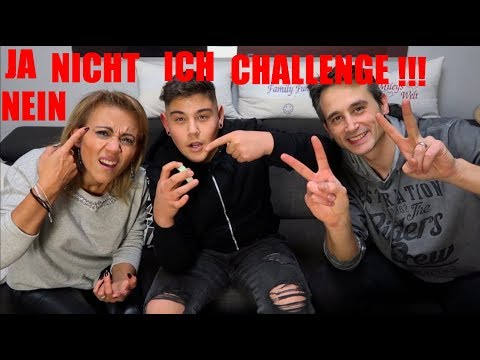 JA,NEIN,NICHT,ICH CHALLENGE- MIT FAMILY FUN