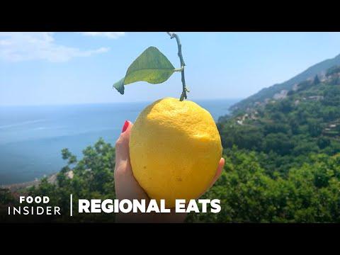 Giant Lemons are Used to Make Limoncello