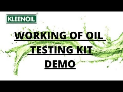 Oil Patch Testing Kit