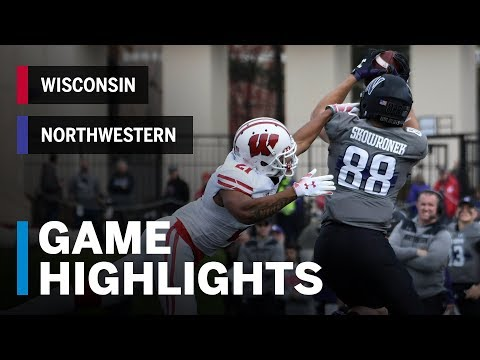 Highlights: Wisconsin Badgers Vs. Northwestern Wildcats | Big Ten Football Mp3