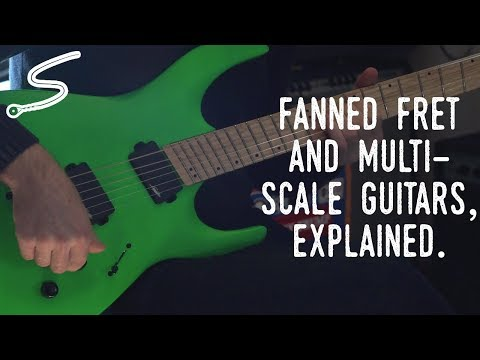 Fanned Fret and Multi-Scale Guitars, Explained.