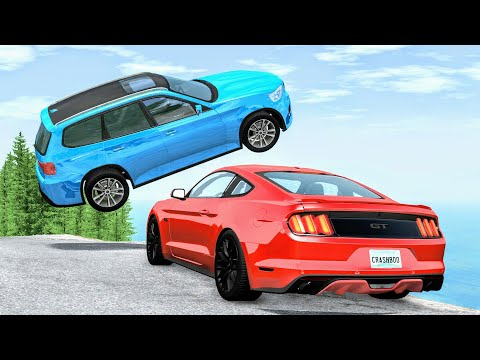 High Speed Traffic Crashes #26 - BeamNG Drive | CrashBoomPunk
