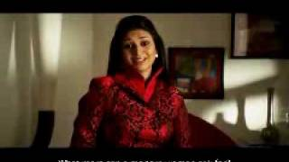 Indian ad film maker directs Divyanka for a Kabul Bank commercial