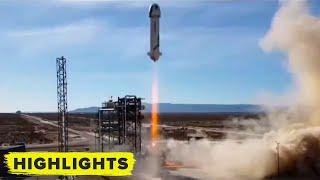 Blue Origin NS-14 Launch! (Rocket and Capsule Landing)