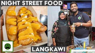 Night Street Food Tour of Malaysia with Veggiepaaji | Fried Ice Cream, Milo, Durian Bites & More