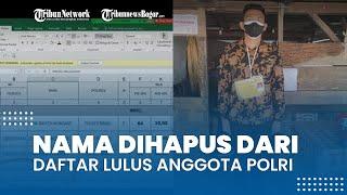 Viral Nama Dihapus dari Daftar lulus Anggota Polri, Begini Penjelasan Polda Sulut